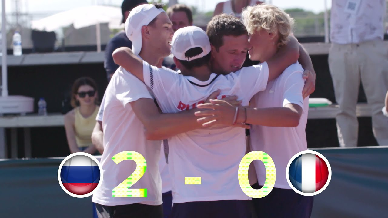 2021 Junior Davis Cup Final - Russia v France