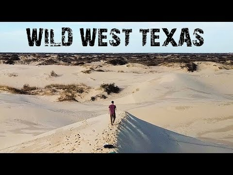 WILD WEST TEXAS - ABANDONED PLACES & MONAHANS SANDHILLS