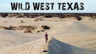 WILD WEST TEXAS - ABANDONED PLACES & MONAHANS SANDHILLS