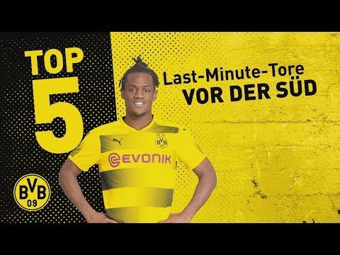 Top 5 Last-Minute Borussia Dortmund Home Goals! | ⚽️| Batshuayi, Dede and Co.