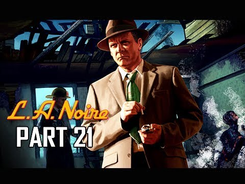 LA Noire Remaster - All Street Crimes [The Long Arm of the ...