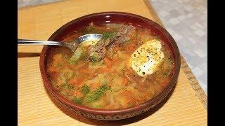 Суп из косули. Варим вкусные щи из дичи!