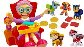 Paw Patrol Plays Fun Greedy Granny Board Game