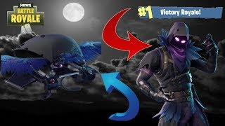 "TOP 1 WITH THE NEW SKIN ""CORBEAU"" / FORTNITE"