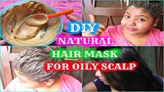 Best DIY Natural Hair Mask For Oily Scalp & Damaged Hairs   Fullers Earth Hair Mask