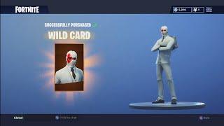 Buying the Wild Card Skin! (White John Wick) - Fortnite: Battle Royale