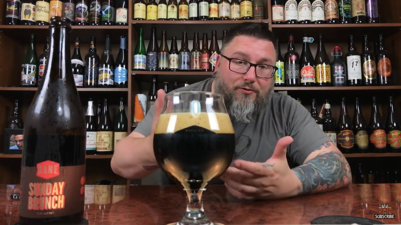 massive beer reviews 1073 kane sunday brunch imperial milk porter w