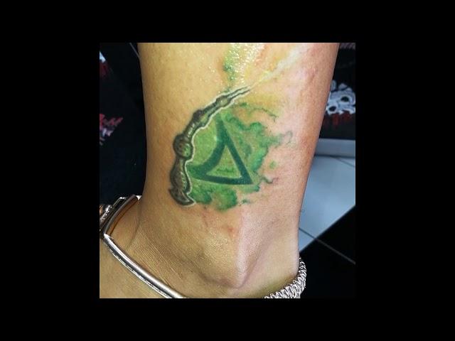 Tatuaggio ispirato alla saga Harry Potter