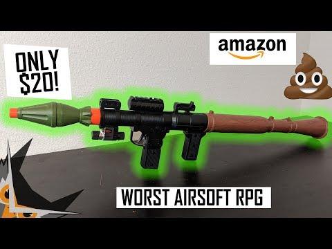 WORST $20 Airsoft RPG Ever Made | UKARMS P16385A