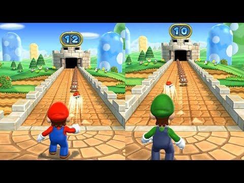 Mario Party 9 Step It Up - Mario vs Luigi Master Difficulty Gameplay  Cartoons Mee