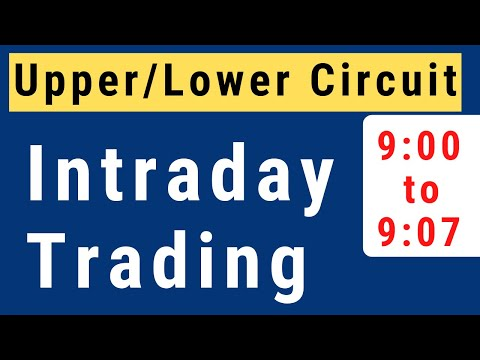 Intraday Trading Strategy | How to select stocks for intraday trading