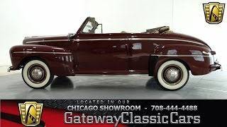 1946 Ford Super Deluxe Convertible Gateway Classic Cars Chicago #711