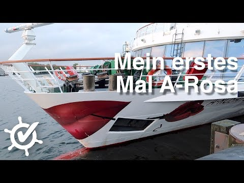 Erstes Mal Mit A-Rosa Auf Flusskreuzfahrt - A-Rosa Flora - Vlog #1