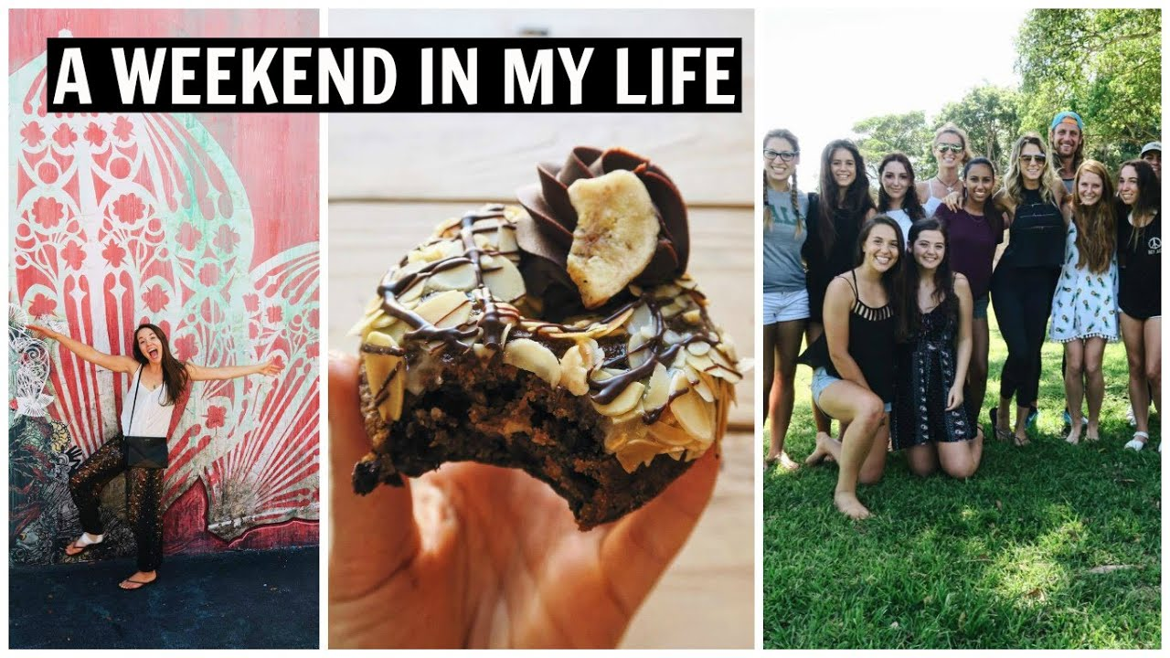 Ankle Sprains, Street Art, and a Fruitluck // A Weekend In My Life