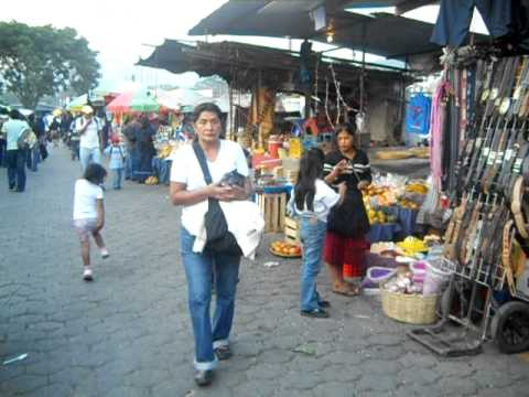 Guatemala, City of Antigua; Outdoor Market