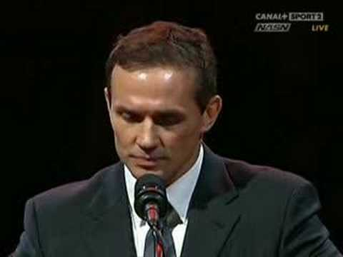 Steve Yzerman Retirement Ceremony Part 7 - YouTube