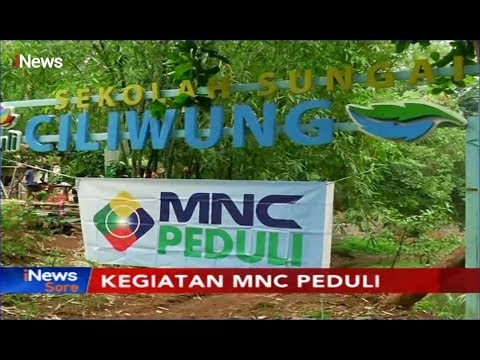 MNC Peduli & Masyarakat Tanam 2.225 Bibit Pohon Di Bantaran Sungai Ciliwung - INews Sore 15/11