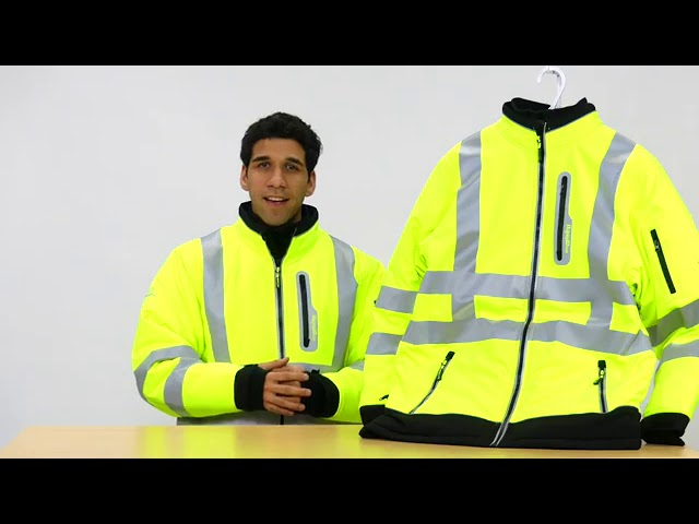 Product Video - RefrigiWear - 0796R - HiVis Extreme Softshell Jacket⠀