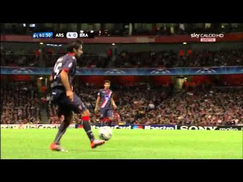 Arsenal 6 - 0 Braga movie