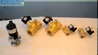 Электромагнитные клапаны, клапан электромагнитный, соленоидный клапан. Видео обзор.(Купить электромагнитный клапан, электромагнитные клапаны по ссылке http://ukspar.ua/153-elektromagnitnye-klapany.htm на нашем..., 2014-07-02T14:13:19.000Z)