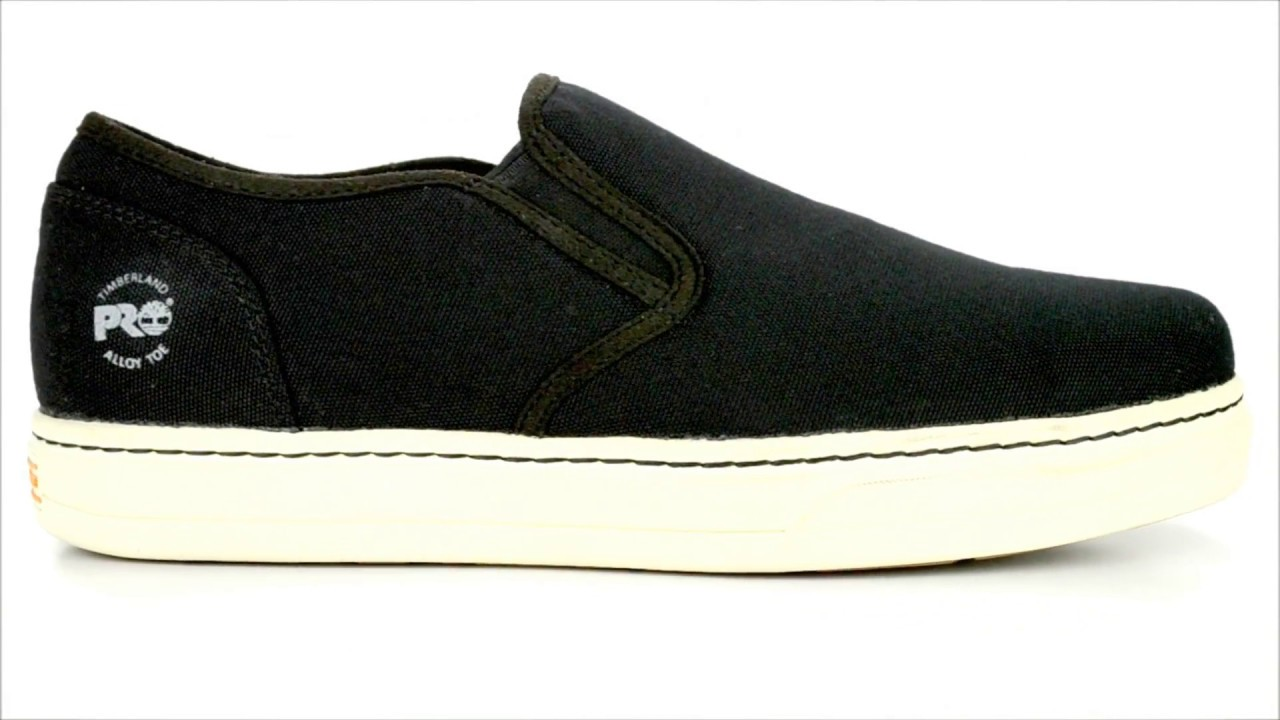 d0aec8d2ee99 Men s Timberland Pro Alloy Toe Slip-On Wedge Sole Work Shoe A1GR2   Steel- Toe-Shoes.com