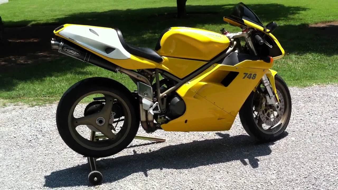 2000 ducati 748 superbike - youtube