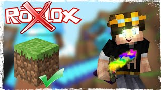 ROBLOX C'EST NUL!! MINECRAFT PVP MONTAGE FUNNY MOMENT!!