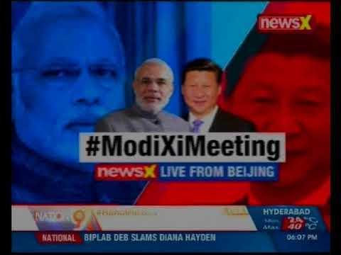 Modi-Xi Jinping Meeting:  Will be happy to host 2019 summit in India