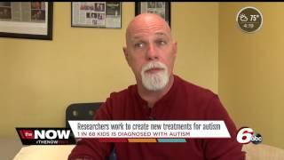 Researchers work to create new treatments for autism