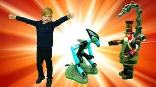 Игрушки Ben10 (Бен тен) для мальчиков. Какой герой мультика круче?