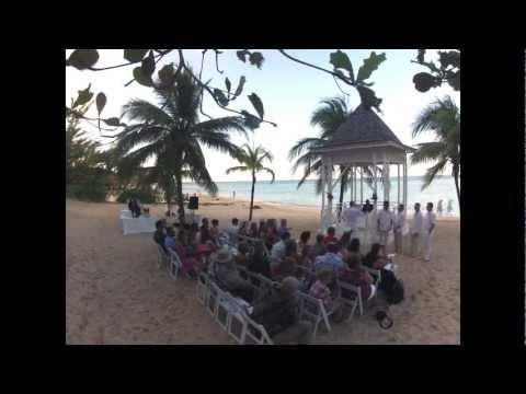 wedding-time-lapse-riu-ocho-rios,-jamaica-february-2013