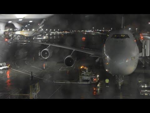 Elal 747-400 LY008 Full Flight From New York JFK To Tel Aviv