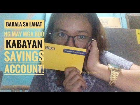 Babala Sa Lahat Ng May Mga BDO Kabayan Savings Account! Baka Maubos Pera Nyo!