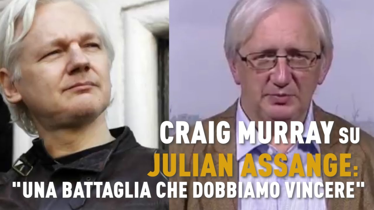 Craig Murray su Julian Assange: