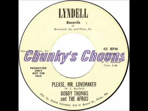 Bobby Thomas and The Afros - Please Mr Lovemaker