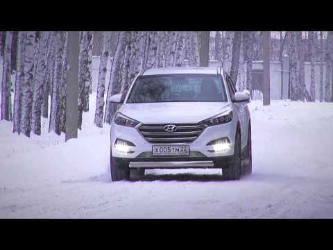 New Hyundai Tucson 2015 на льду ТЕСТ ДРАЙВ Александра Михельсона