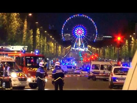 Police officer dead in Paris shooting