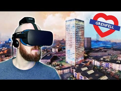INSIDE GRENFELL TOWER VIRTUAL REALITY – Grenfell Our Home VR Documentary