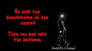 Glee smooth criminal full lyrics.mp3