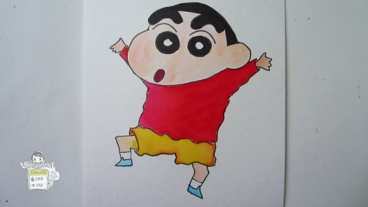 How To Draw Shin Chan クレヨンしんちゃん Youtube