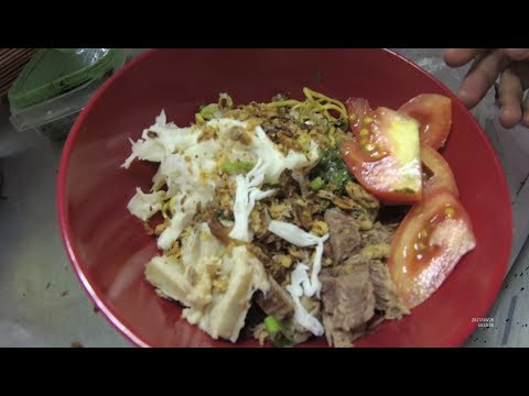 Indonesia Jakarta Street Food 2019 Part.1 Soto Mie Daging Babat Jason YDXJ0247