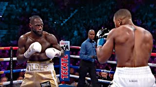 What It's REALLY Like to Fight Deontay Wilder