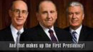 LDS First Presidency and 12 Apostle Song