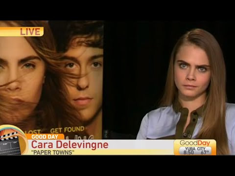 Cara Delevingne's AWKWARD Paper Towns Interview | What's Trending Now