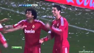 Real Betis vs Real Madrid C.F 2-3 All Goals ( 10th March 2012 )