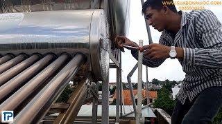 Cách sửa máy nước nóng năng lượng mặt trời bị rò rỉ nước