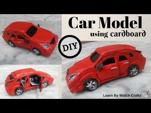 Realistic Car model using cardboard (DIY) | Learn By Watch Crafts
