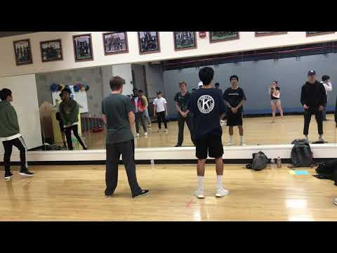 Colony high school boys hip hop 2018-2019 try out day 1