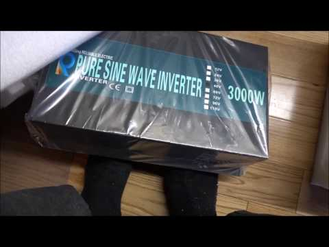 Unboxing And Testing Inverters