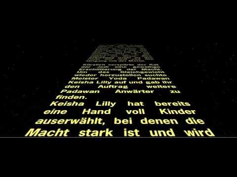 Einladung Zu Keishas Star Wars Geburtstag